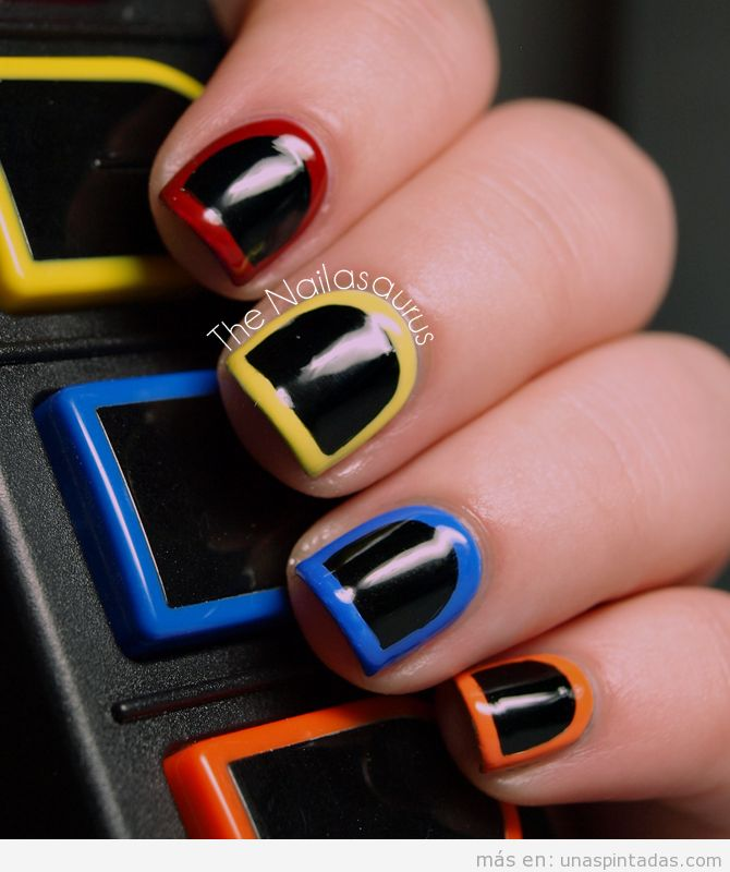 Nail Art de Guitar Hero