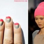 Tutoriales para hacer uñas pintadas con color block, paso a paso