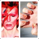 Decoraciones de uñas en homenaje a cantantes y grupos de música