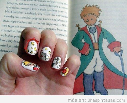 Diseño de uñas El Principito