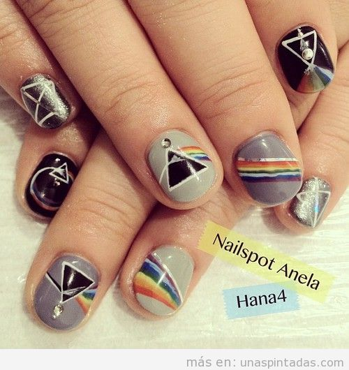 Nail Art, prisma de la portada del disco Pink Floyd
