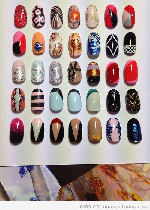 35 Nail Art de The Illustrated Nails para Dior