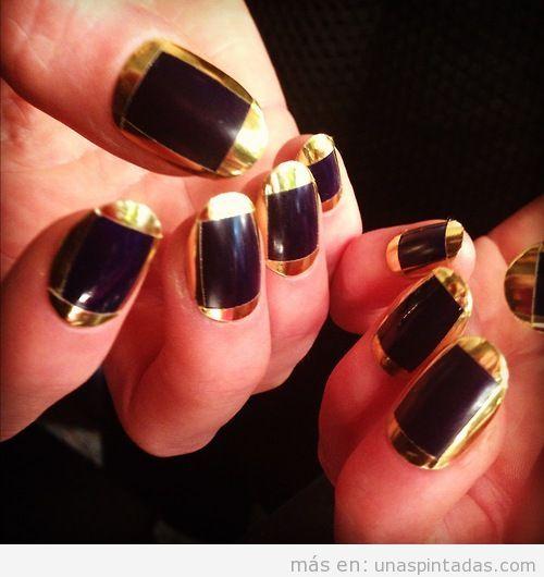 Decoración de uñas inspiradas en Cleopatra