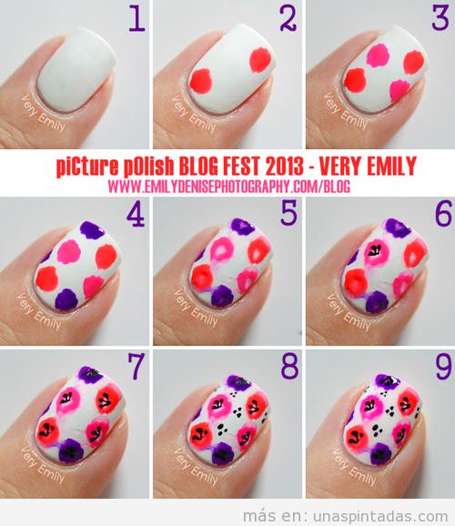 Tutorial Nail Art, como dibujar una amapola en las uñas