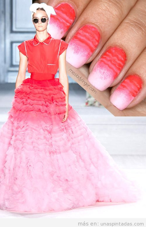Tutorial Nail Art Giambattista Valli Couture Fall '14
