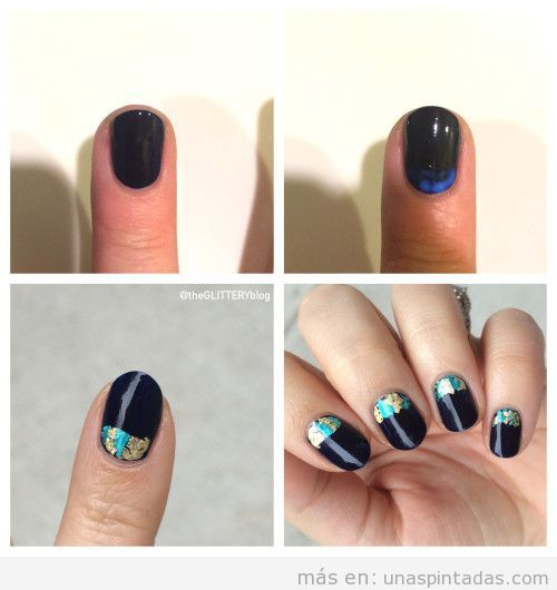 Tutorial diseño uñas Nochevieja