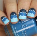 Uñas pintadas de azul ATREVIDAS y Divertidas