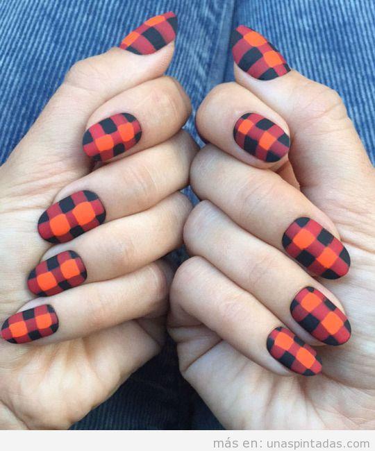 Uñas mate: Sé difente con esta forma de pintarte las uñas - Uñas ...