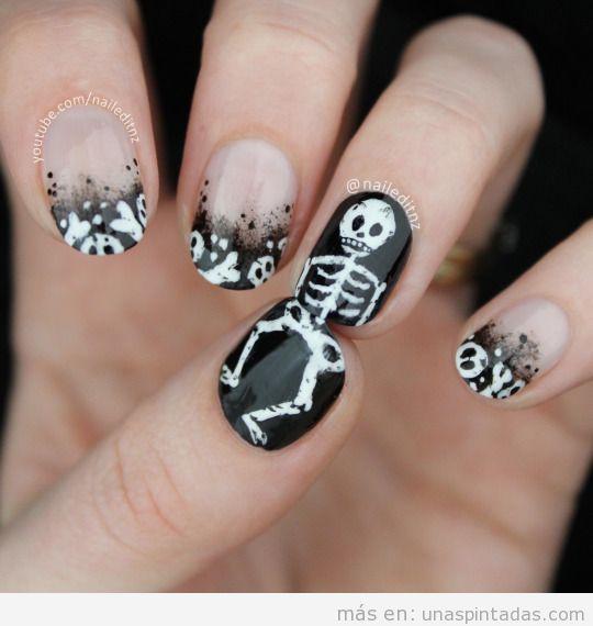 5 imágenes con ideas uñas pintadas Halloween 2015