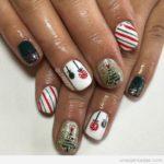 Diseños de navidad para tus uñas: Luce con estilo