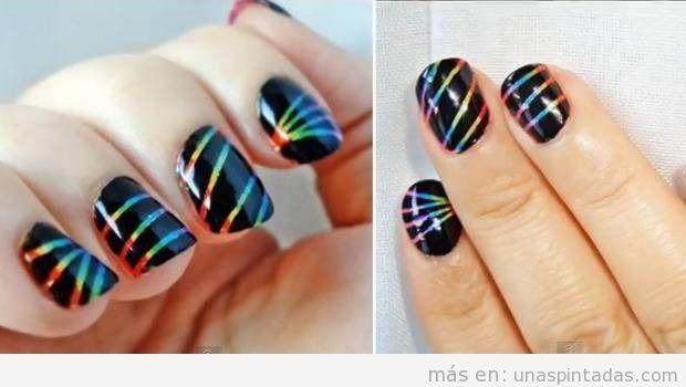 Decoraciones de uñas con rayas: ¿Te apuntas a esta tendencia? Te explicamos el paso a paso