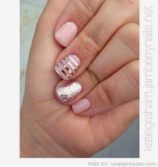 Diseños de uñas para principiantes sencillos