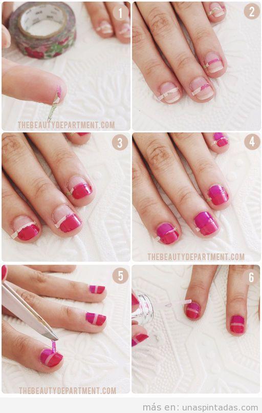Diseño de uñas para primavera 2016 fácil, tutorial