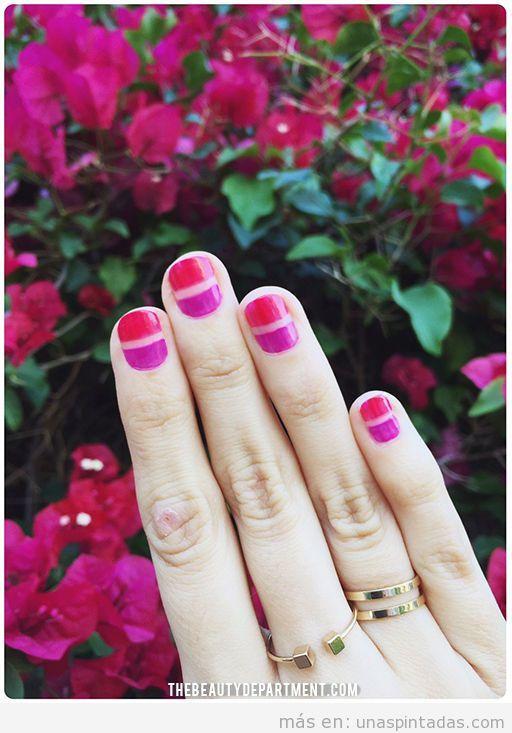 Diseño de uñas para primavera 2016 fácil, tutorial 2