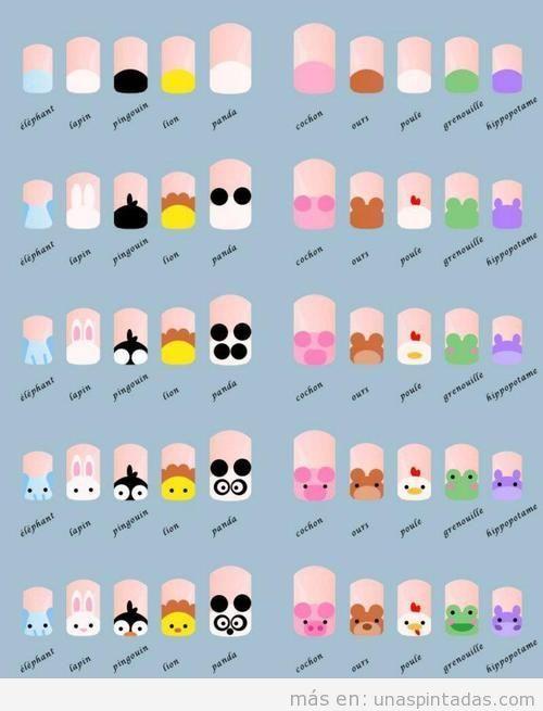 Diseños de uñas FÁCILES: Las Uñas Más Fáciles De Hacer - Uñas pintadas