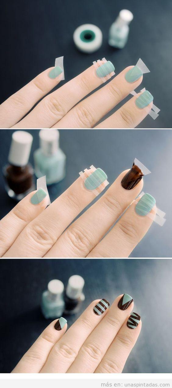 Trucos para hacer diseños de uñas sin los que ya no podrás vivir!