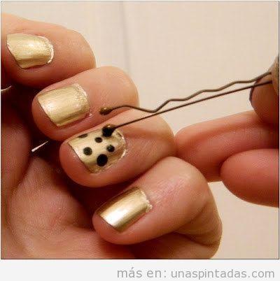 Trucos fáciles Nail Art o decoración de uñas 3