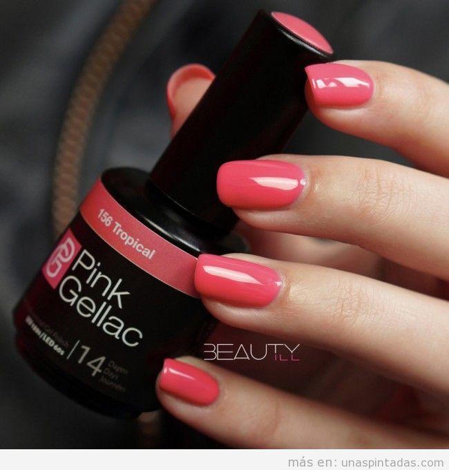Esmalte uñas permanente Pink Gellac 2