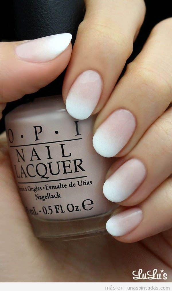 Diseño uñas esmalte OPI