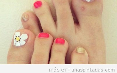 Ideas de decoración de uñas de los pies que adorarás