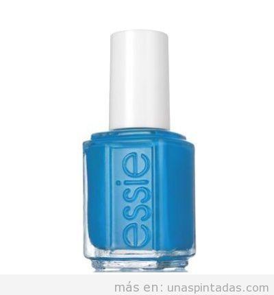 Esmalte uñas marca Essie barato color azul, outlet