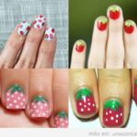 Uñas decoradas con fresas, pon el Verano en tu Uñas