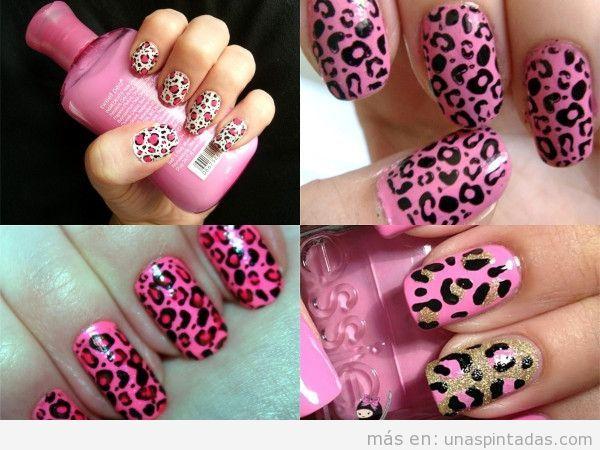 Uñas De Leopardo Decora Tus Uñas Con Tu Lado Más Felino