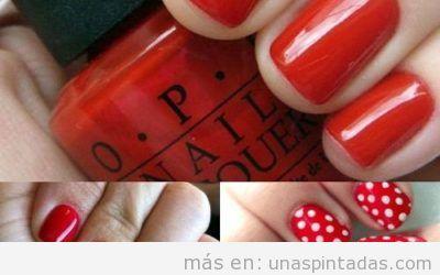 Uñas pintadas de rojo: +30 modelos de uñas que te seducirán