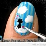 Uñas decoradas con gatos: Pinta tus uñas a lo MIAU!