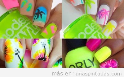 Uñas de verano: Diseños llenos de Vida y Color con los que disfrutarás