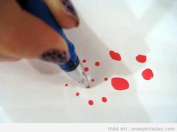 Punteador DIY con bolígrafo