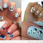 Uñas decoradas con mariposas: Cómo dibujarlas paso paso