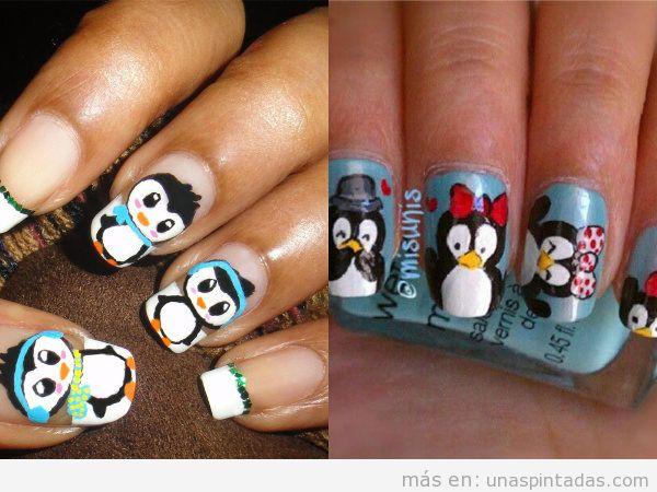 Uñas de pingüinos