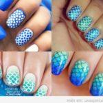 Uñas de sirena: Decora tus uñas con la cola de una sirena