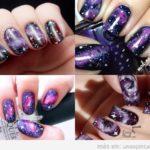 Decoración de uñas con galaxias: BRILLO y misterio en tus uñas