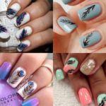 Decoraciones de uñas con plumas, vídeos paso a paso y diseños preciosos