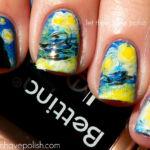 10 Decoraciones de uñas inspiradas en obras de arte maravillosas
