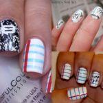 Decoraciones de uñas para la VUELTA AL COLE: cuadernos, lápices, pizarras y más diseños