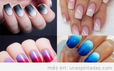 Uñas degradadas: Tus Uñas Con Degradado Perfectas