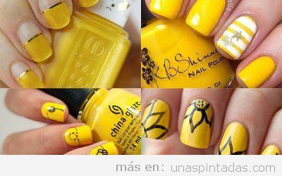 Uñas pintadas amarillas: encuentra el tono perfecto para cada estación del año