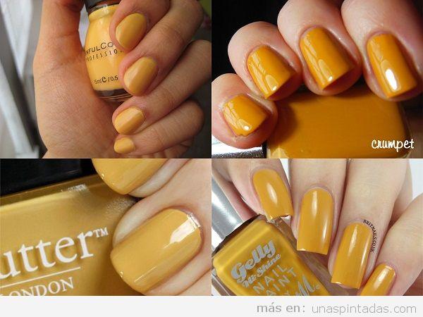 Uñas Pintadas Amarillas Encuentra El Tono Perfecto Para