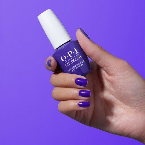 7 Uñas pintadas color Ultra Violet, Pantone año 2018