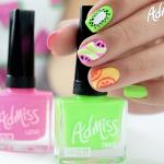 Esmaltes de uñas Admiss: Review y gama de colores