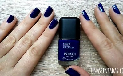Review Esmalte de Uñas Kiko Smart Fast Dry