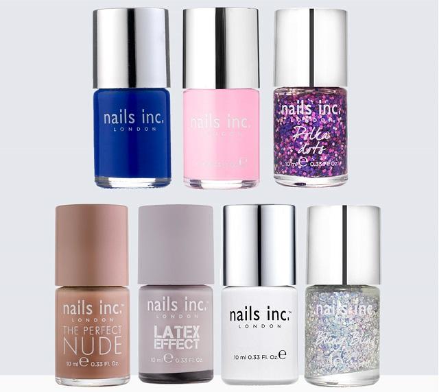 Mejores marcas de esmaltes de uñas, Nails Inc