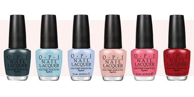 mejores marcas de esmaltes de uñas, Opi