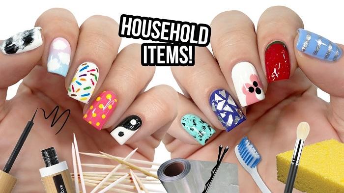 10 Decoraciones de uñas con utensilios que tienes por casa